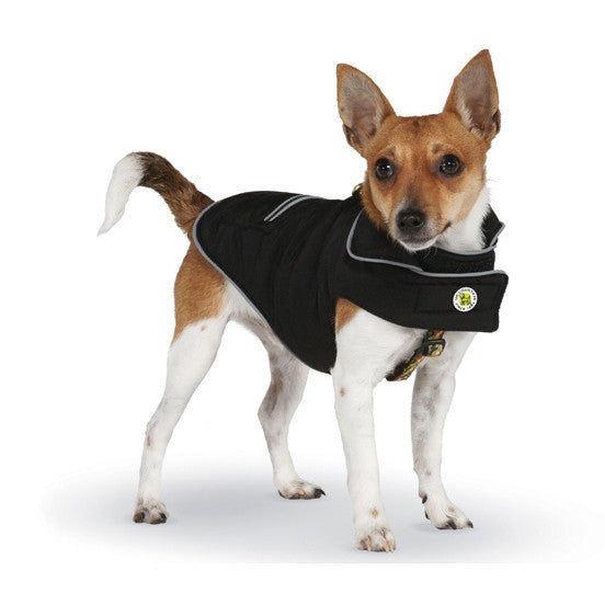 Up Country Black Sport Puffer Dog Coat