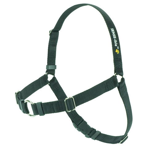 SENSE-ible No Pull Dog Harness - Black