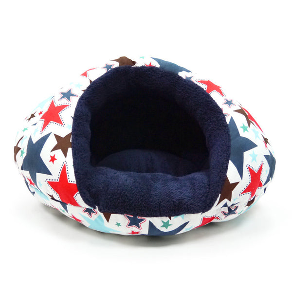 Burger Bed Small Dog Snuggle Bed - Star