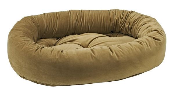 Bowsers Toffee Microvelvet Donut Dog Bed