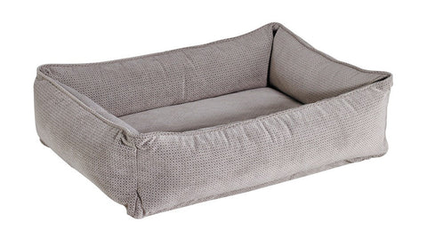 Bowsers Urban Lounger Dog Bed - Silver Treats