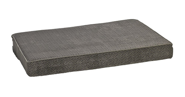 Bowsers Isotonic Memory Foam Mattress - Pewter Bones