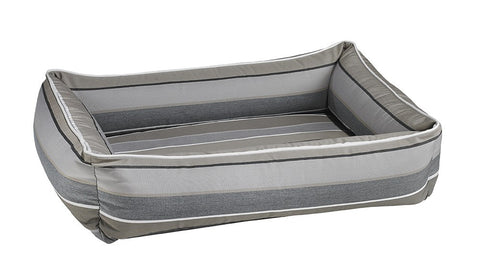 Bowsers Urban Lounger Dog Bed - Boardwalk Stripe