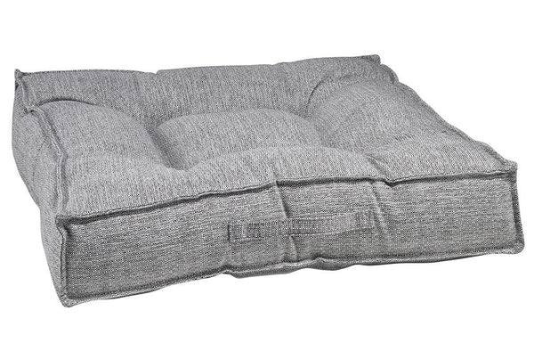Piazza Dog Bed - Allumina (Microlinen)