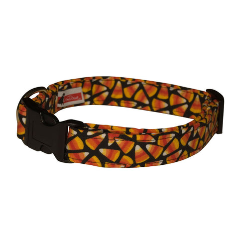 Elmo's Closet Rainin' Candy Corn Dog Collar