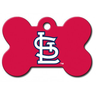 St. Louis Cardinals MLB Custom Engraved Dog ID Tag - Bone