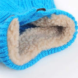 Classic Cable Dog Sweater - Blue