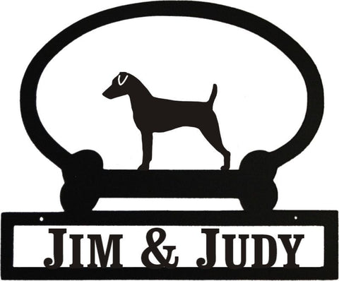 Sweeney Ridge Jack Russell Custom Message Sign