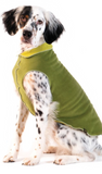 Duluth Double Fleece Pullover Dog Sweater - Moss Green/Avocado