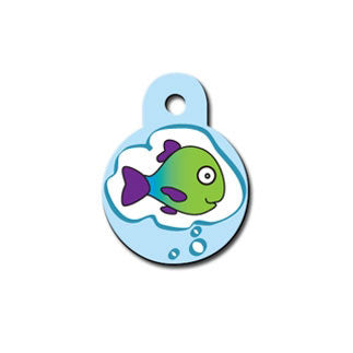 Fish Dream Cat ID Tag