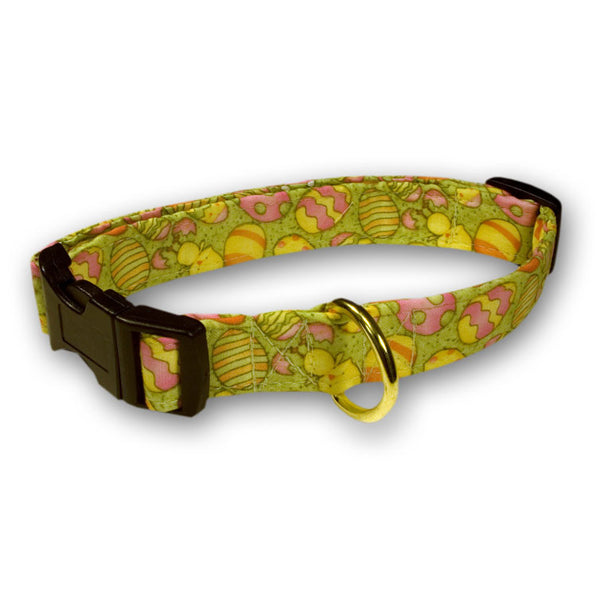 Elmo's Closet Spring Easter Eggs Dog Collar