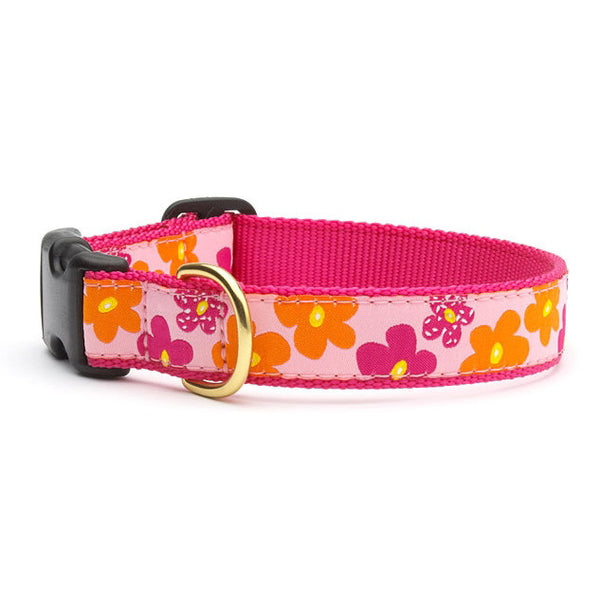 Up Country Flower Power Dog Collar
