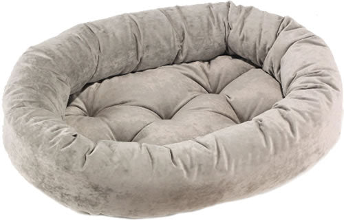Bowsers Granite Microvelvet Donut Dog Bed