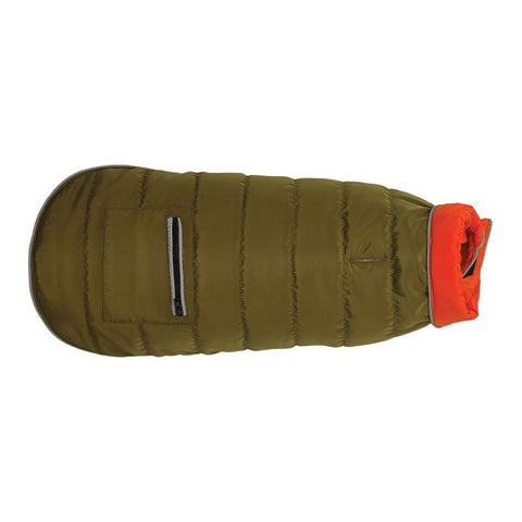 Up Country Green Sport Puffer Dog Coat