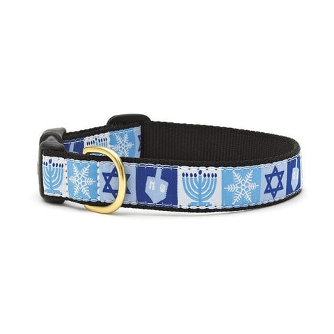 Up Country Hanukkah Dog Collar
