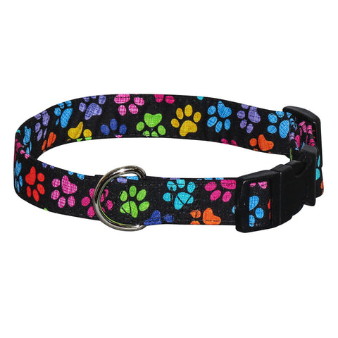 Elmo's Closet Hash Tag Paws Dog Collar