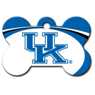 Kentucky Wildcats NCAA Custom Engraved Dog ID Tag - Bone