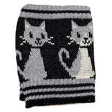 Kitty Cat Boot Cuffs - Gray