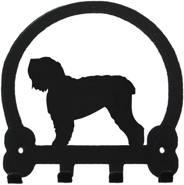 Sweeney Ridge Black Russian Terrier Key Rack