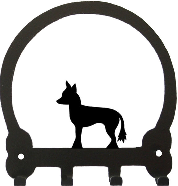 Sweeney Ridge Chinese Crested Key Rack