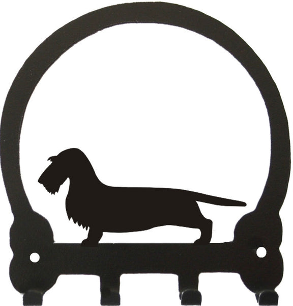 Sweeney Ridge Dachshund (Wire) Key Rack