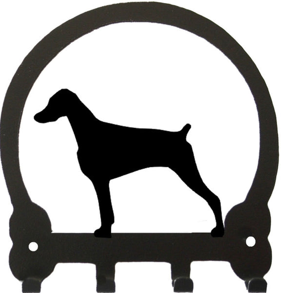 Sweeney Ridge Doberman (Uncropped) Key Rack