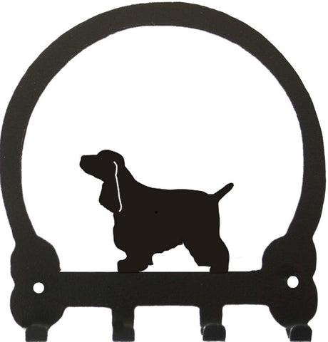 Sweeney Ridge English Cocker Spaniel Key Rack
