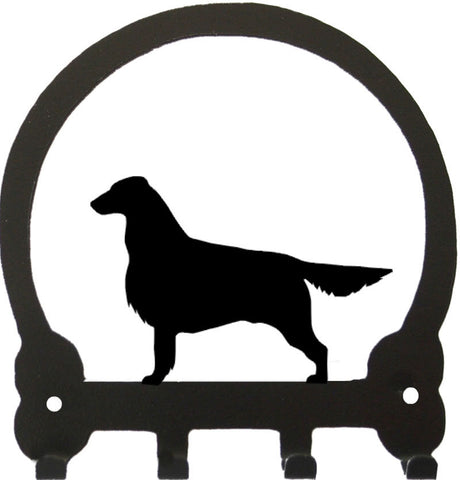 Sweeney Ridge Flat Coated Retriever Key Rack
