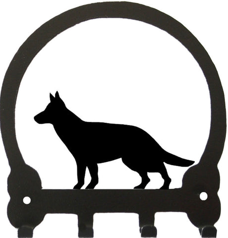 Sweeney Ridge German Shepherd Key Rack