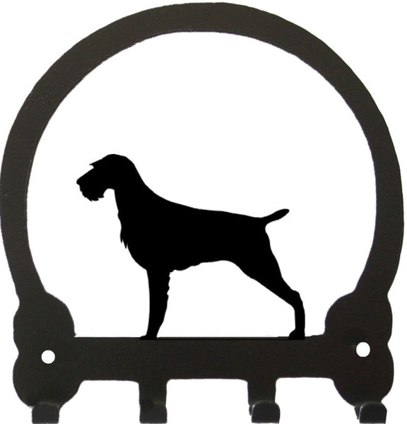 Sweeney Ridge German Wire Haired Pointer Key Rack