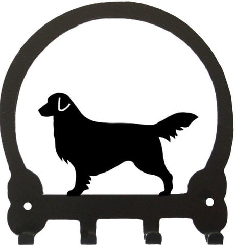 Sweeney Ridge Golden Retriever Key Rack
