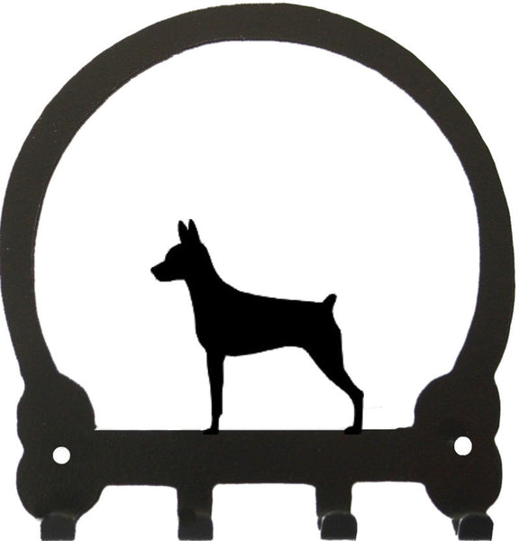 Sweeney Ridge Miniature Pinscher Key Rack