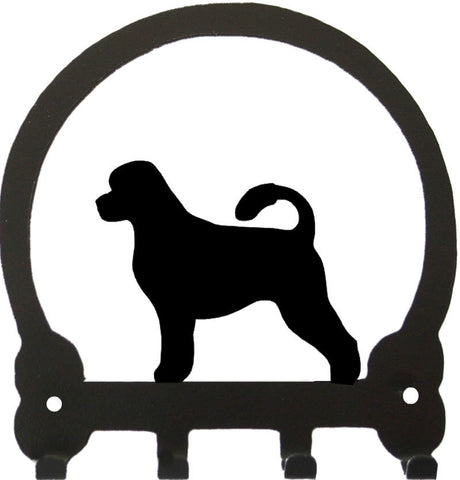 Sweeney Ridge Portuguese Water Dog Key Rack