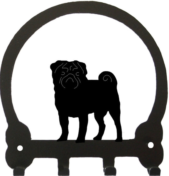 Sweeney Ridge Pug Key Rack