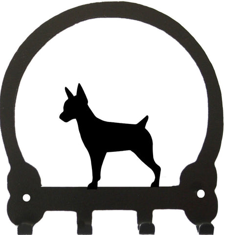 Sweeney Ridge Rat Terrier Key Rack