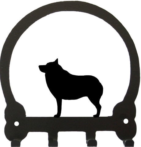 Sweeney Ridge Schipperke Key Rack
