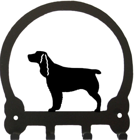 Sweeney Ridge Springer Spaniel Key Rack