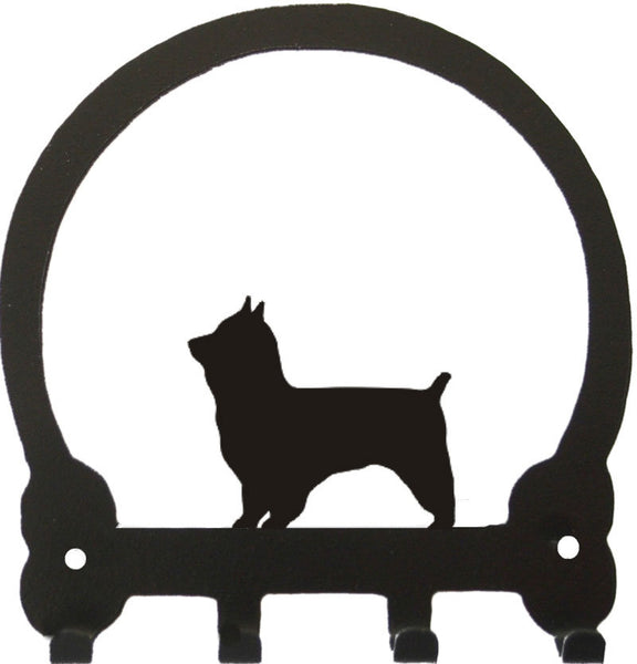 Sweeney Ridge Yorkshire Terrier (Pet Clip) Key Rack