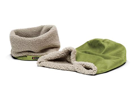 Big Shrimpy Den Dog & Cat Bed - Leaf