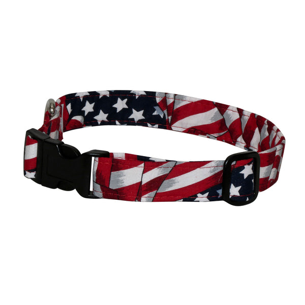 Elmo's Closet Liberty Dog Collar