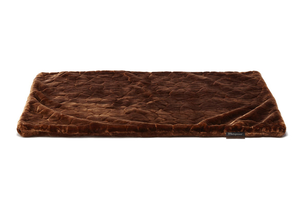 Mariposa Manta Dog Bed - Brown