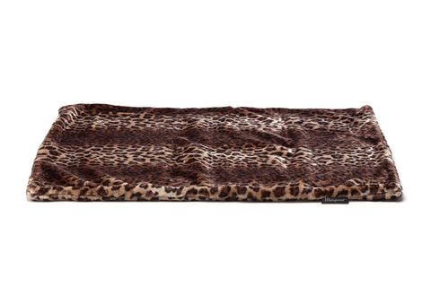 Mariposa Manta Dog Bed - Leopard