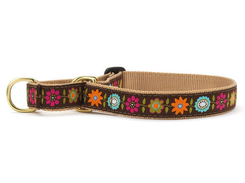 Up Country Bella Floral Martingale Dog Collar