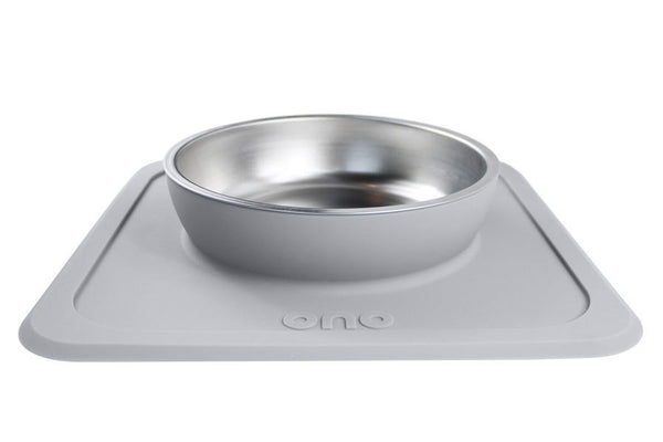 The Great Bowl Single Pet Feeder 32 oz - Cool Gray