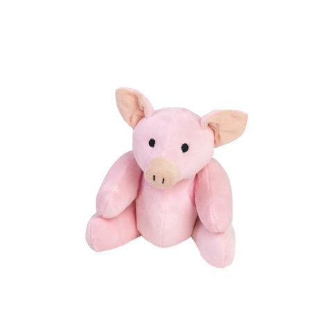 Rippys Interactive Pull Apart Dog Toy - Pig