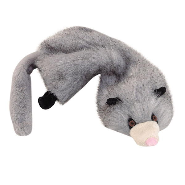 Unstuffies Dog Squeaky Dog - Opossum