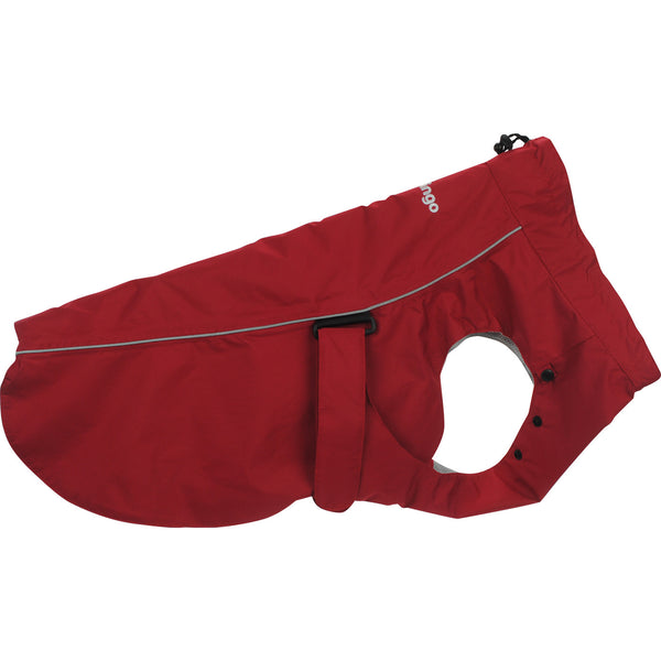 Red Dingo Perfect-Fit Rain Coat For Dogs - Red