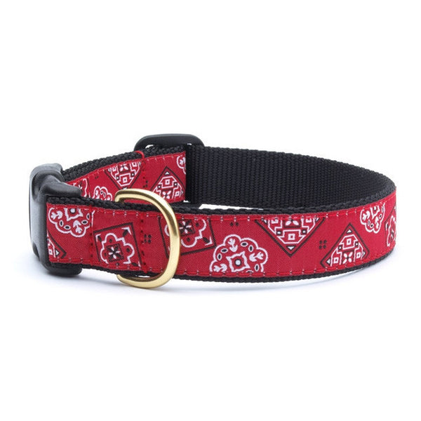 Up Country Bandana Dog Collar