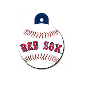 Boston Red Sox MLB Custom Engraved Dog ID Tag - Round