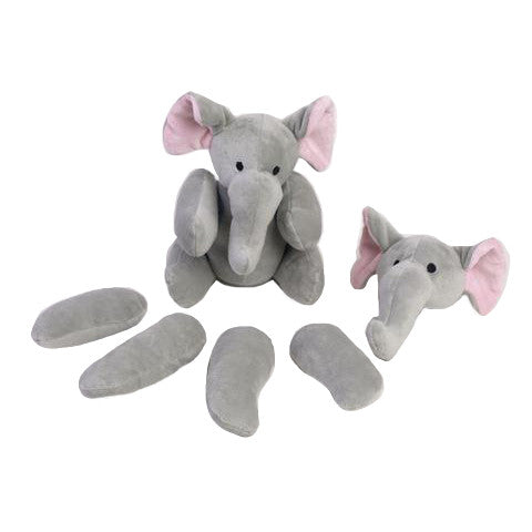 Rippys Interactive Pull Apart Dog Toy - Elephant